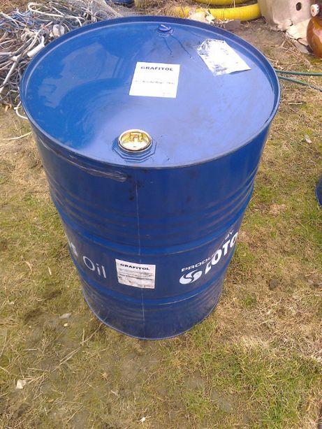 beczka 200 l metalowa na ropę olej złom