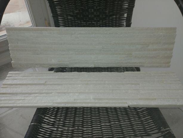 Płytki Wall Crazy Snow kwarcyt biały
