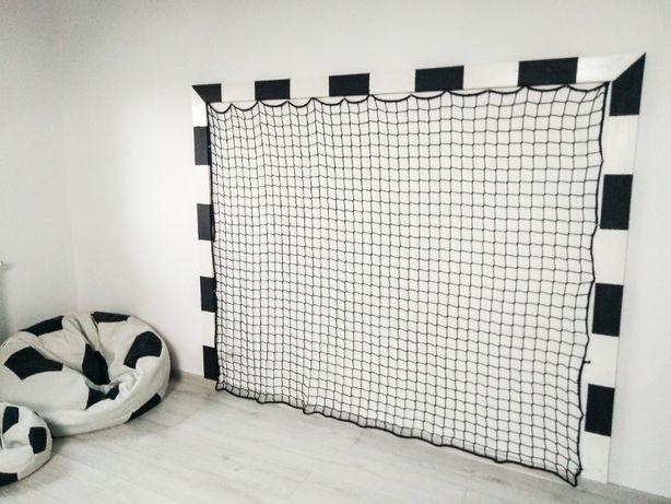 BRAMKA na ścianę, dekoracja i zabawa, bramka piłkarska na ścianę