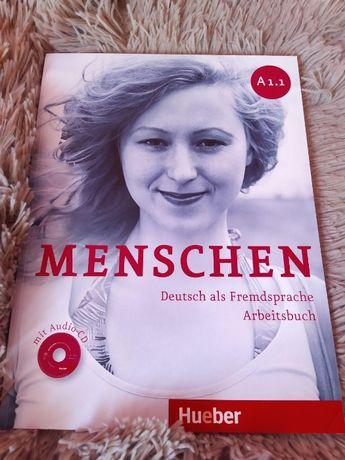 Посібник для вивчення німецької мови Menschen arbeitsbuch А1.1