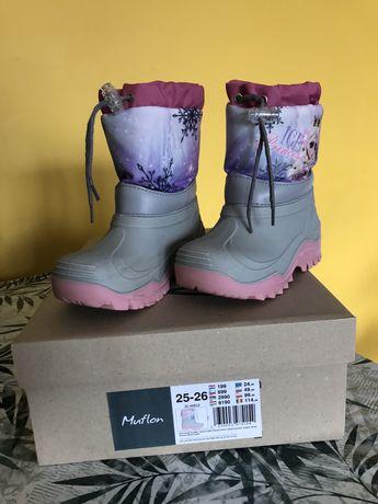 Buty zimowe, śniegowce, Muflon