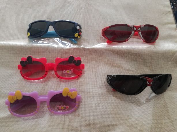 Óculos criança, Hello Kitty, Homem Aranha e Mickey