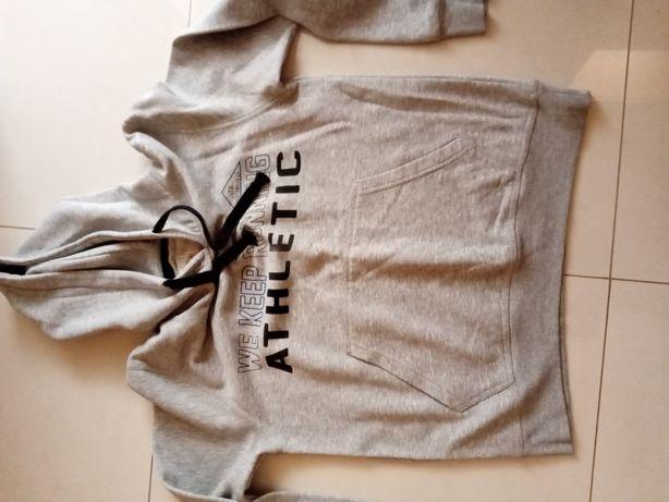 Sweat tamanho M cor cinza