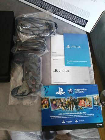 OKAZJA! Playstation 4 Slim dysk 1Tb Idealna jak Nowa! +Pad!  Ps4