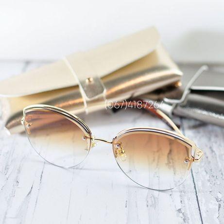 Солнцезащитные очки с коричневым градиентом 50509