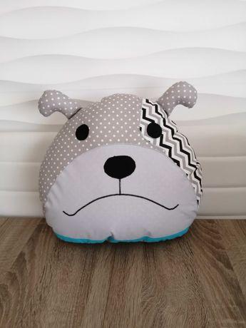 Poduszka pies, sowa, kontroler