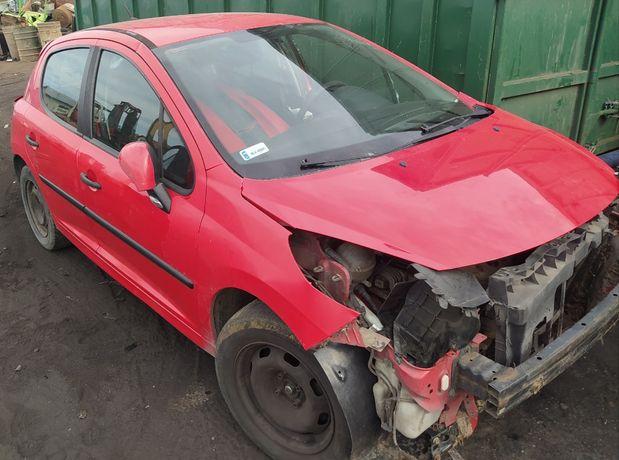 Peugeot 207 07r. 1.4 8V KFV Wszystkie Części Lakier KKNB Silnik Drzwi