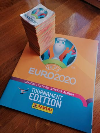 Caderneta do Euro 2020 Completa
