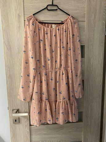 Sukienka brudny roz