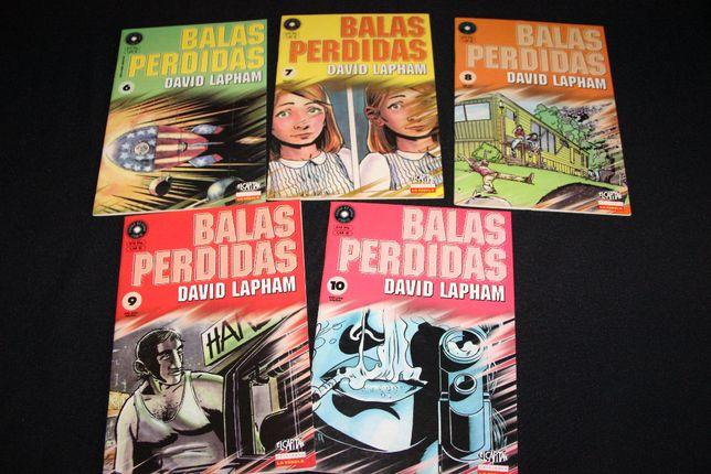Banda desenhada - Balas Perdidas - 5 volumes