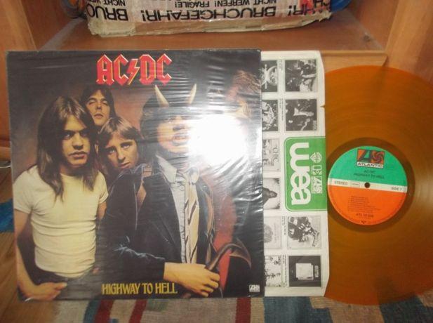 LP AC/DC - Highway To Hell, Yellow Vinyl, RARE!