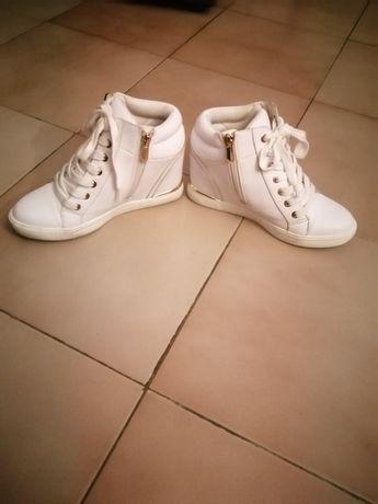 Vendo sapatilha bota usada da ÉXE