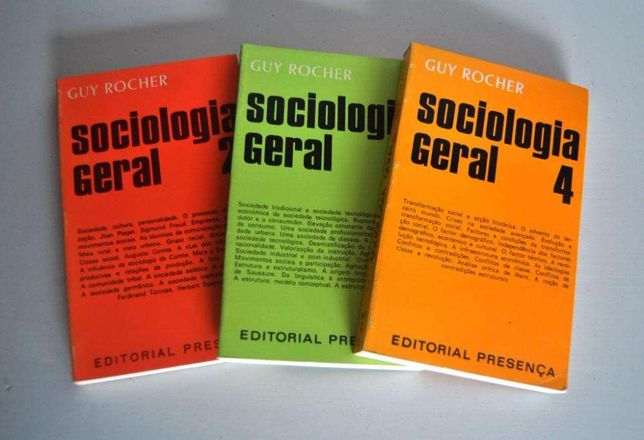 Sociologia Geral - volumes 2, 3, 4