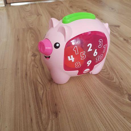 Skarbonka świnka Fischer Price