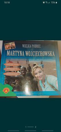 Wielka podróż z Martyną Wojciechowską gra planszowa