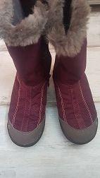 Buty turystyczne warm wysokie dla dzieci QUECHUA