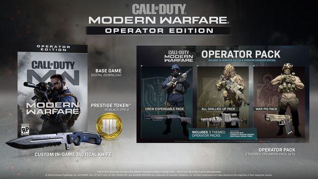 Klucz Call of Duty MW Operator Edition od NVIDIA GeForce Polska