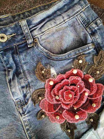 Шорти джинсові xs