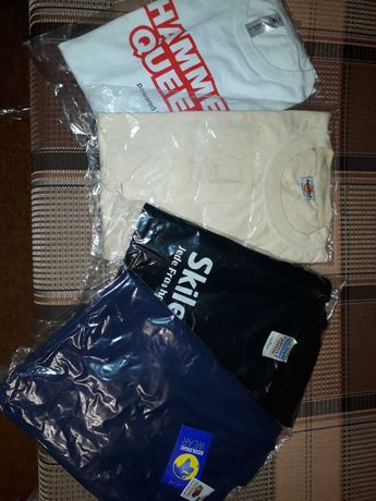Новые рубашки и футболки на лето 46-48 -- 130 и 100грн