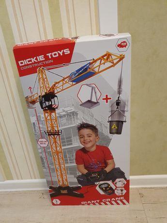 Подъмный кран dickie toys 110см Новый