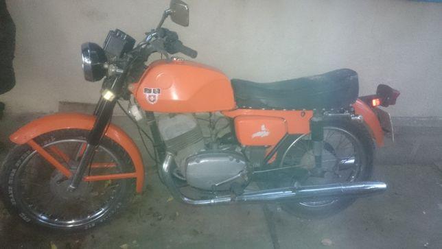 Мотоцикл Ява CZ- 6в