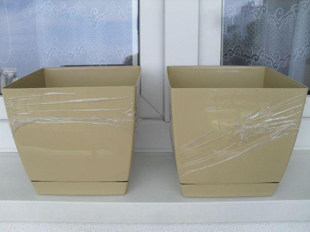Doniczki kwadratowe 21 cm x 21 cm