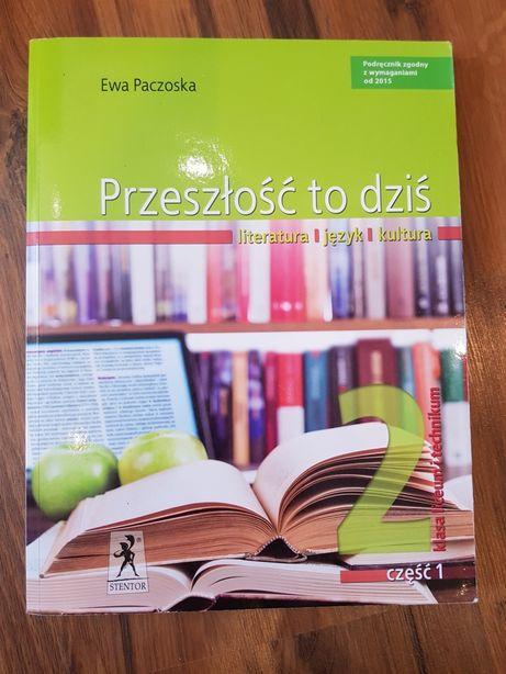Podręcznik do języka polskiego Przeszłość to dziś 2 cz. 1