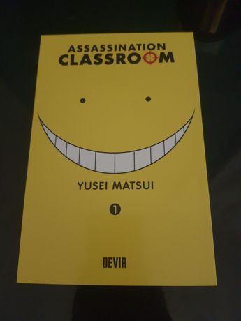 Assassination classroom, volume 1
