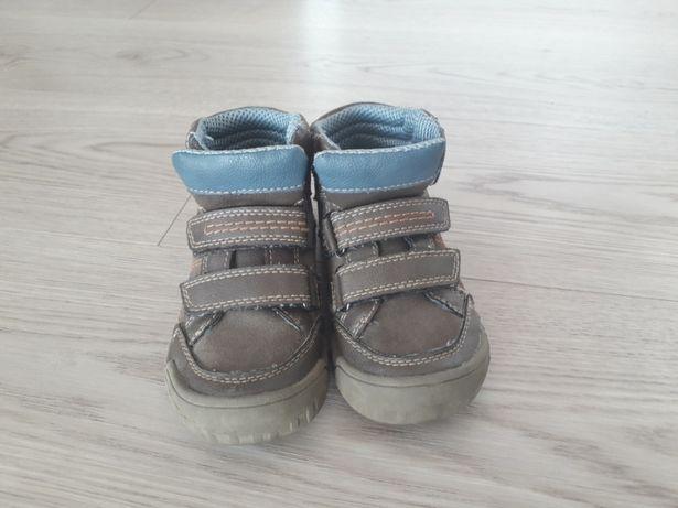 Buty skórzane wiosenne / jesienne Barenschuhe r. 27 okres przejściowy