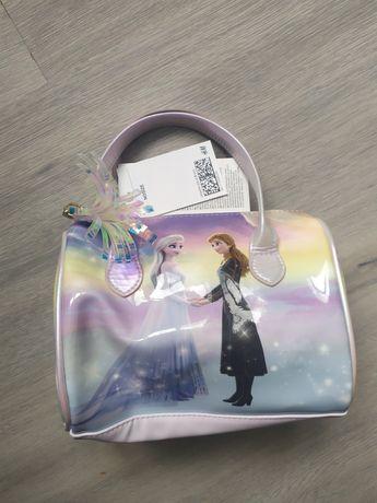 Новая сумка чемодан Ельза Фрозен н&м hm