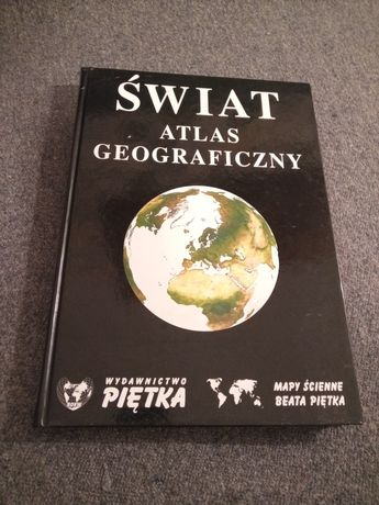 Atlas swiata Polski ksiazka zdjecia o Polsce swiecie album mapa mapy