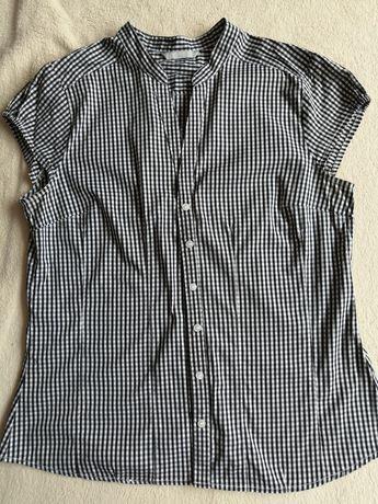 Koszula bluzka krótki rękaw rozm 40 L