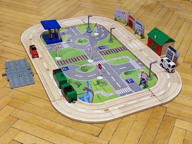 Деревянная железная дорога, город, Playtive Junior Motorway