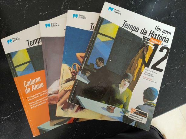 Livros escolares de história 12 ano