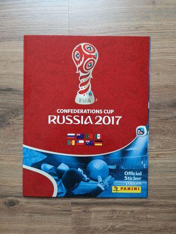 Colecção Confederations 2017 cromos por colar