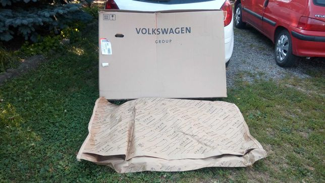 Kolekcjonerski papier pakowy dla fana marki VW.