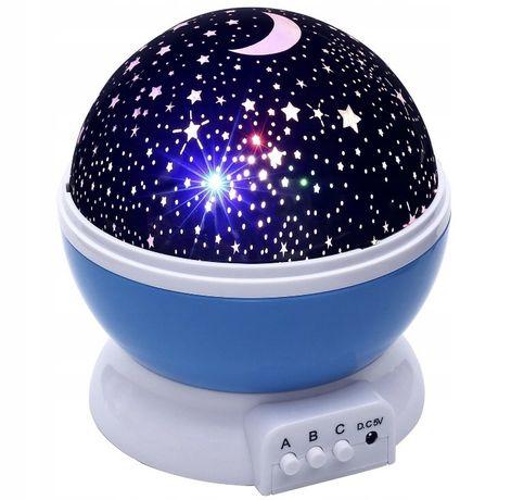 *Kolorowy projektor gwiazd* *wysyłka gratis*