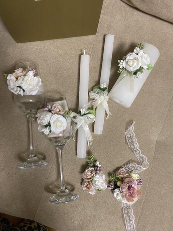 Продам набір весільних аксесуарів
