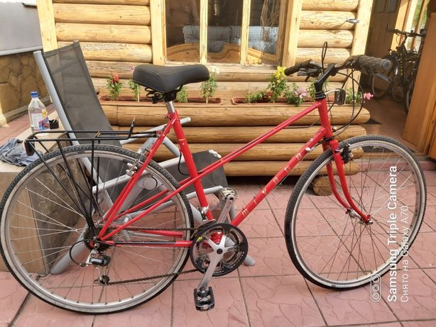 Винтажный Японский велосипед из Германии