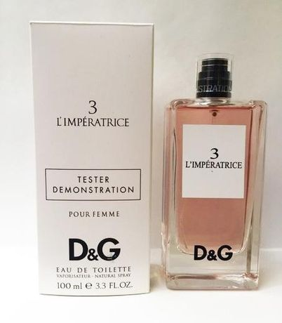 Духи Dolce & Gabbana L`Imperatrice 3 100ml тестер оригинал Императрица