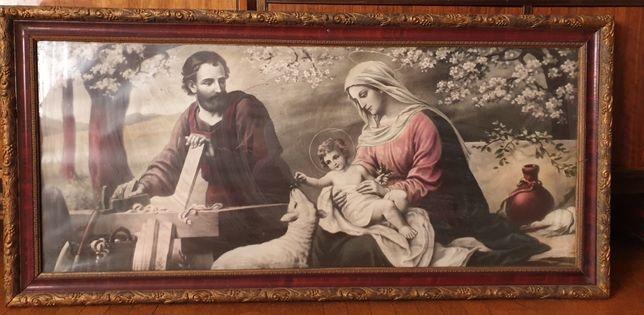 Obraz religijny duży