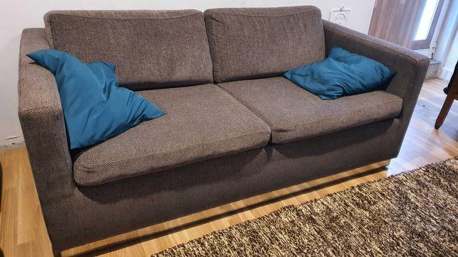 Sofa cama castanho