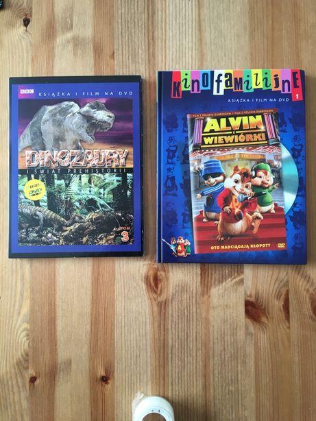 Dinozaury i świat prehistorii, Alvin i wiewiórki DVD