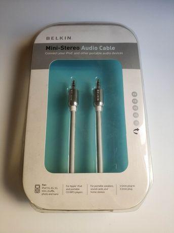 Cabo áudio Jack 3,5 mm Belkin (NOVO SELADO)
