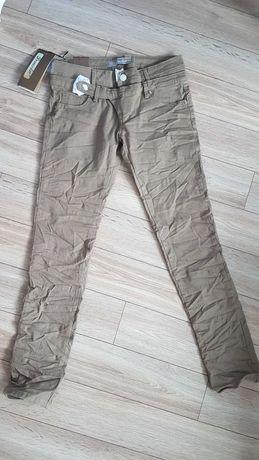Nowe spodnie damskie niski stan