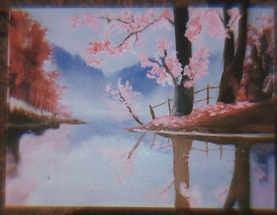 Картина маслом на холсте Житомир - изображение 1