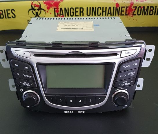 Магнитола Hyundai Accent/Solaris