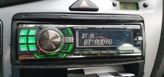 Radio Alpine cda-9884R + bluetooth