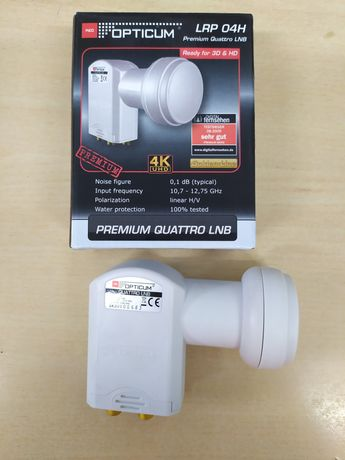 Konwerter satelitarny Premium Quattro LNB