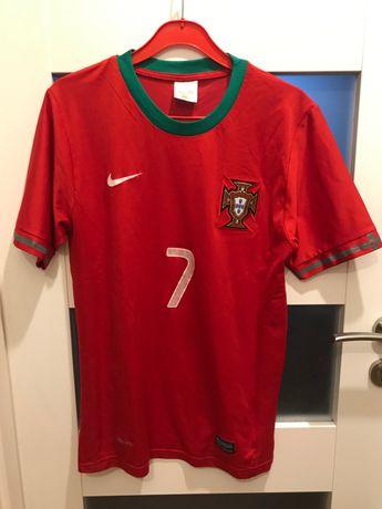 Koszulka T-shirt football Ronaldo Portugalia rozm. XS
